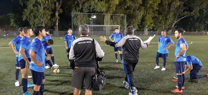 """La Liga Minera crece a paso firme. """"Beto"""" Sanagua (técnico de la selección minera): """"lo que se logró no se hizo nunca en la Argentina y no sé si en el mundo"""""""