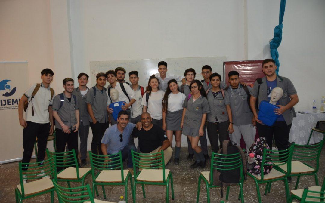 FUDEFOMI desarrolló con el Colegio del Prado una capacitación en RCP