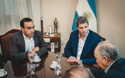 San Juan : El gobernador Sergio Uñac recibió a empresarios mineros de Chile, al intendente de Iglesia y a FUDEFOMI